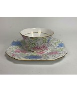 ABJ Crafton China Made in England Helson Pattern Floral Cup / Saucer Set... - $16.82