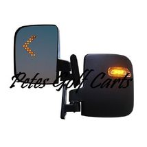 Golf Cart LED Side Mirror Set RHOX  - $49.99