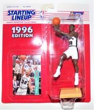 NBA Starting Lineup 1996 Sean Elliott San Antonio Spurs Collectible SLU B5 - $9.99