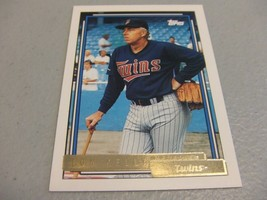 1992 Topps Gold #459 Tom Kelly MG -Minnesota Twins- - $3.12