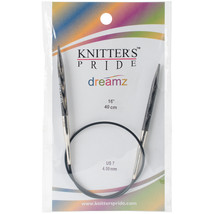 "Knitter's Pride-Dreamz Fixed Circular Needles 16""-Size 7/4.5mm - $10.82"