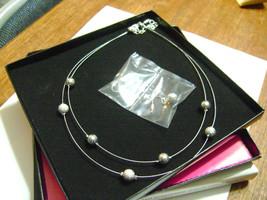 Avon Award Jewelry - 2012 President's Recognition Necklace & Earrimgs Set - NIB! - $18.69