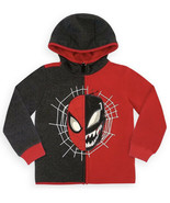 Spider-Man and Venom Zip Black and Red Hoodie for Boys Size 3 Toddler - $21.77