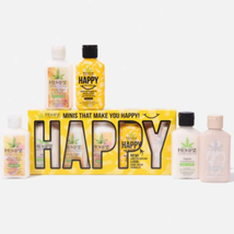 Hempz 5 pc Spread Happiness Moisturizer Gift Set (Limited Edition)