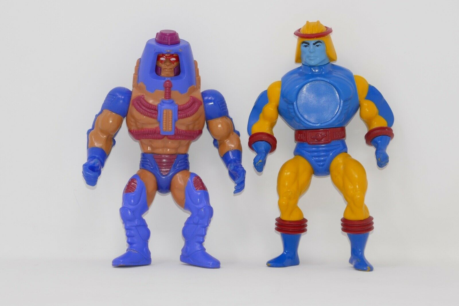 Primary image for Mattel He-Man Masters of the Universe MOTU Man E Faces Sy-Klone Action Figures