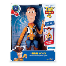 "Disney Toy Story EXCLUSIVE Pull String Talking Woody 16"" Figure Hat 30+ ... - $49.99"