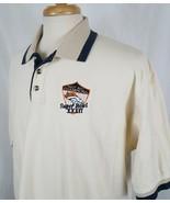 Vtg Lee Sport Denver Broncos 1997 AFC Champion Super Bowl XXXII Polo Shi... - $20.11