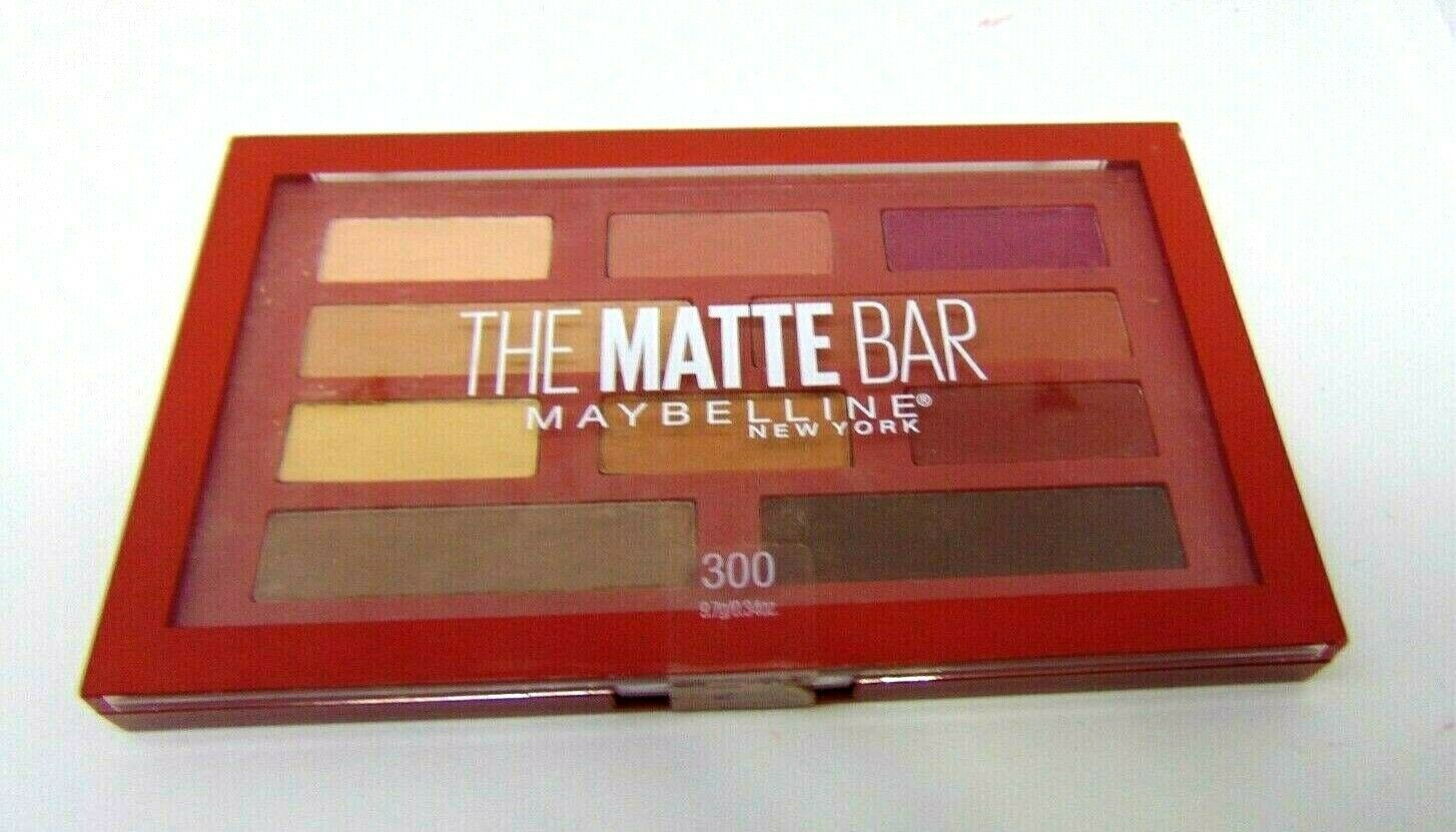 Primary image for MAYBELLINE THE MATTE BAR Eyeshadow Palette No.300 0.34oz/9.7g