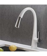 Kraus KPF-1673CHWH Nolen Dual Function Pull, Faucets for Kitchen Sinks, ... - $999.99