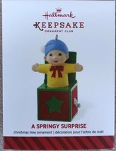 2014 Hallmark A Springy Surprise KOC Exclusive Ornament - New - $6.35