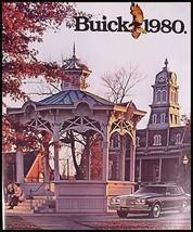 1980 Buick Prestige Brochure Regal Riviera LeSabre - $3.95