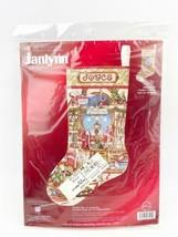 Janlynn Crafter's Corner Christmas Stocking Kit 023-0209 2004 Ctd. Cross Stitch - $59.99
