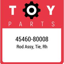 45460-80008 Toyota Rod Set Tie Rh, New Genuine OEM Part - $53.36