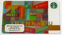 Starbucks Korea Gift Card Thank You Korean New - $5.99