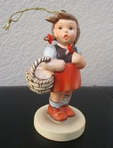 Schmid Schweetheart 1984 Second Edition Annual Ornament Hummel Reproduction - $14.84