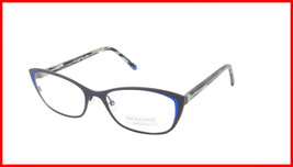 Face A Face Eyeglasses Frame JOYCE 2 Col. 9440 Acetate Matte Dark Violet Flashy - $316.62