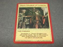 Quest For the Grail 1995 CCG: Lady Companion - Queen Elizabeth of Lyonesse - $11.00