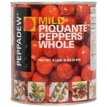 Peppadew Peppers - Whole Sweet Piquante Fruit - 2 cans - 70 oz ea - $111.68