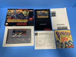 + Super Nintendo SNES Super Ghouls 'N Ghosts Authentic CIB Complete - $129.99