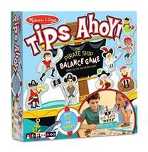 Melissa & Doug Tips Ahoy Pirate Ship Balance Game - 24 Treasure Maps, 60... - $32.46