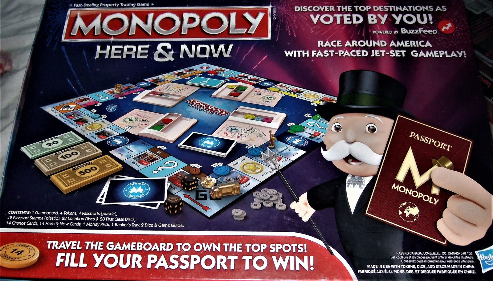 Monopoly Here & Now Board Game (Brand NEW)