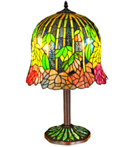 "23""H  Tiffany Honey Locust Base Table Lamp - 134540 - £449.15 GBP"