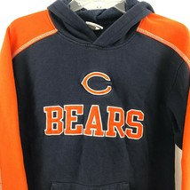 Chicago Bears Youth L (12/14) Hoodie Hooded Sweatshirt NFL Team Apparel EUC - $17.43