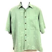 Reyn Spooner Aloha Hawaiian Button Down Short Sleeve Shirt Size Medium G... - $24.74