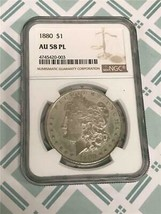 1880P Dollar NGC AU57 PL - $39.58