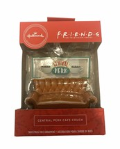 Hallmark 2020 Red Box Friends Central Perk Cafe Couch Ornament Free Shipping - $23.73