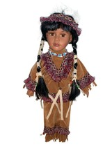 Vintage Cathay Collection Native American Doll - $25.00