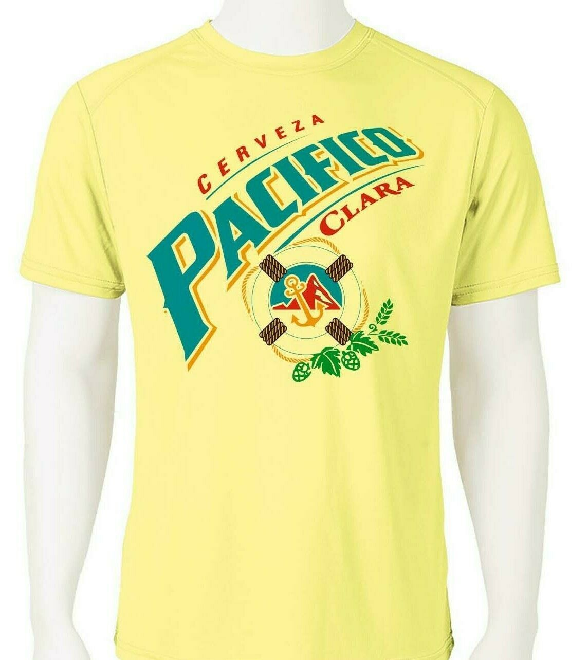 Pacifico Dri Fit graphic Tshirt moisture wicking graphic printed sun shirt SPF