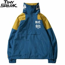 High Street Jacket Japan Harajuku Windbreaker Multi Pockets Jacket Coat ... - $54.25