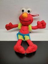 9 Inch 2007 Mattel Fisher Price Sesame Street Elmo in swimsuit - $13.78