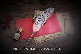 Mind Control Enchanted Pen Spell Bound Enchanted Witches Pen ..Haunted - $94.00