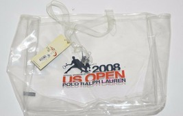 1c316ac515 Polo Ralph Lauren US Open 2008 Clear PVC Tote -  29.65