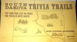 South Dakota Trivia Trails 1985 J & P Design Board Game New Rare Game - $68.59