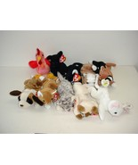 Lot of 10 Ty Beanie Baby Babies Plush 1993 to 1996 - $19.70