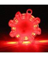 8 Led Road Safety Flare Flashing Warning Light Roadside Flares Emergency... - $7.90