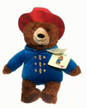 NEW Kohls Plush PADDINGTON BEAR Book Character 2016 Stuffed Toy Red Hat ... - $18.00