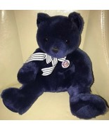 "Ty Beanie Buddy Plush CENTENNIAL 2003 NEW YORK YANKEES NY Navy Bear 14"" - $16.82"