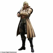 NEW Metal Gear Solid Play Arts Kai Liquid Snake Figure Square Enix F/S - $129.55