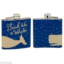 Drink like a Whale Pocket Flask