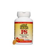 Natural Factors PhosphatidylSerine (PS) 100mg, 60 Soft Gels - $26.57