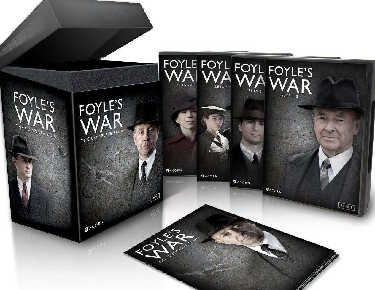 Foyle's War: Complete Saga TV Series Seasons 1 2 3 4 5 6 7 8 [DVD Set New]