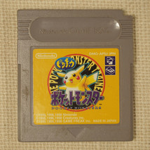 Pokemon Yellow Pikachu Edition  (Nintendo Game Boy GB Gameboy, 1999)  Japan - $8.32