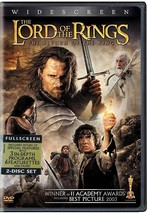 The Lord of the Rings The Return Of The King DVD 2 Disc Set Fullscreen NEW - $8.00