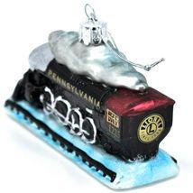 Kurt S Adler Lionel Pennsylvania Train #1225 Hand-Crafted Glass Ornament LN4192 image 8