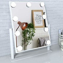 Lighted Vanity Make Mirror with Light,Makeup Mirror with Dimmable LED Bl... - $79.94