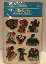 Vintage Lot Of 2 Ziggy Puffy Stickers American Greetings 1982 Sealed NIP